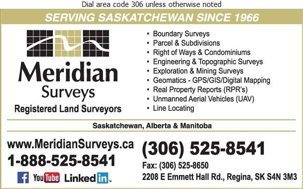 Meridian Surveys Ltd - Surveyors Digital Ad