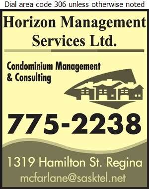 Horizon Management Services Ltd - Property Management Digital Ad
