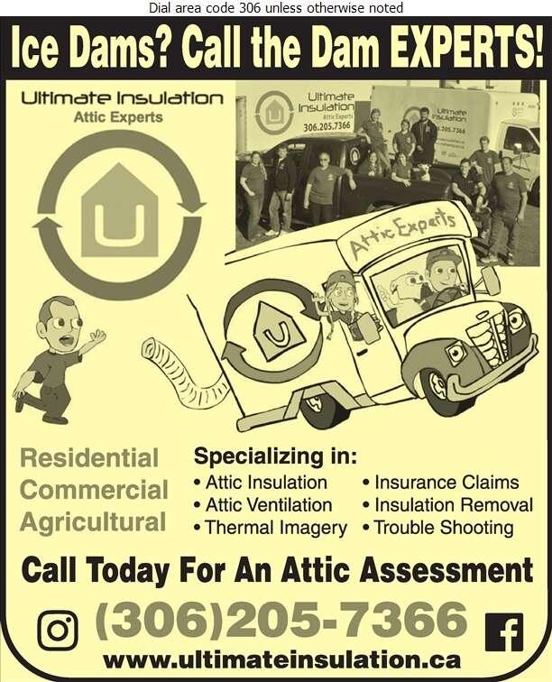 Ultimate Insulation - Insulation Contractors Cold & Heat Digital Ad