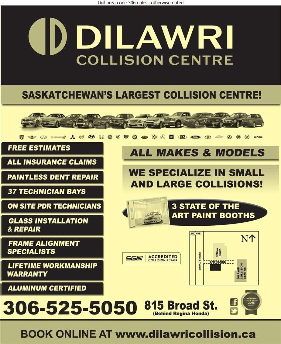 Dilawri Collision Centre - Auto Body Repairing Digital Ad