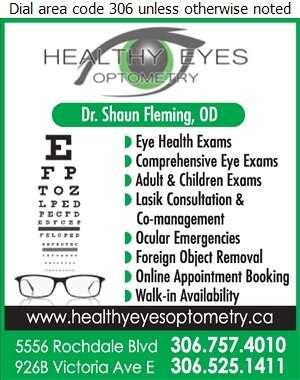 Healthy Eyes Optometry - Optometrists Digital Ad