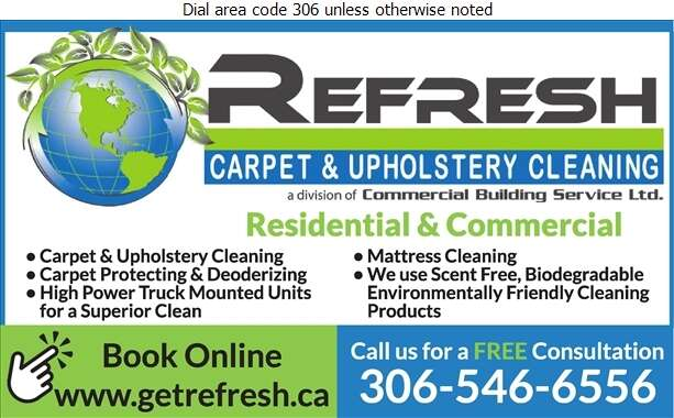Refresh Carpet & Upholstery Cleaning - Carpet & Rug Cleaners Digital Ad