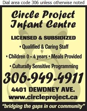 Circle Project Infant Centre - Day Care Centres & Nurseries Digital Ad