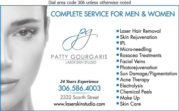 Patty Gourgaris Laser Skin Studio - Hair Removing Digital Ad