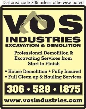 Vos Industries Excavation & Demolition - Demolition Contractors Digital Ad