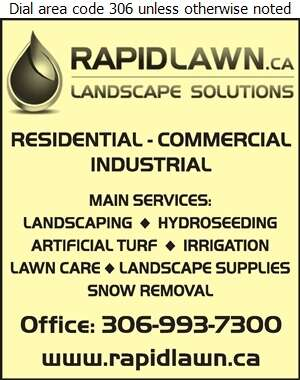 Rapid Lawn Landscape Solutions Ltd - Landscape Contractors & Designers Digital Ad