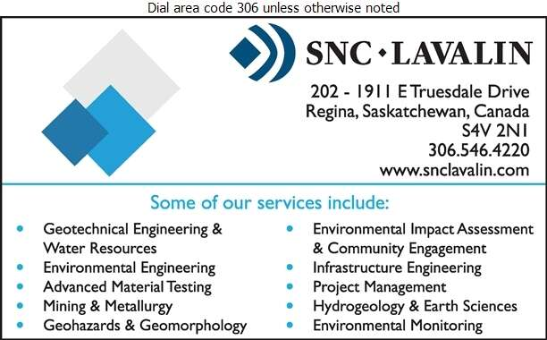 SNC Lavalin Inc - Engineers Consulting Digital Ad