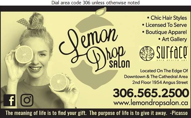 Lemon Drop Salon - Beauty Salons Digital Ad