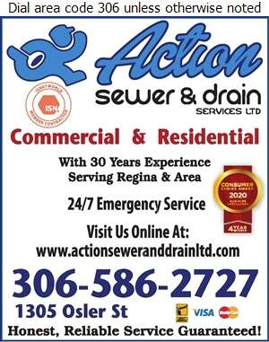 Action Sewer And Drain Services Ltd - Sewer Contractors Digital Ad