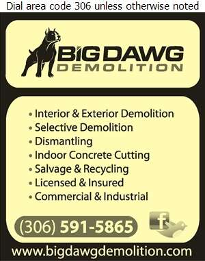 Big Dawg Demolition - Demolition Contractors Digital Ad