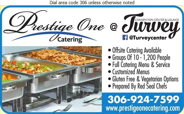 Prestige One Catering - Caterers Digital Ad