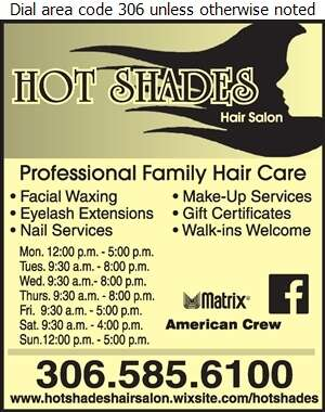 Hot Shades Hair Salon - Beauty Salons Digital Ad