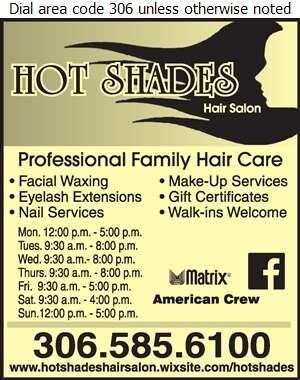 Hot Shades Hair Salon - Beauty Salons Digital Ad