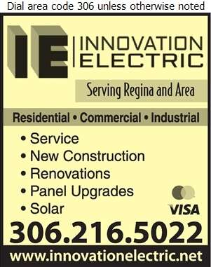 Innovation Electric - Electric Contractors Digital Ad