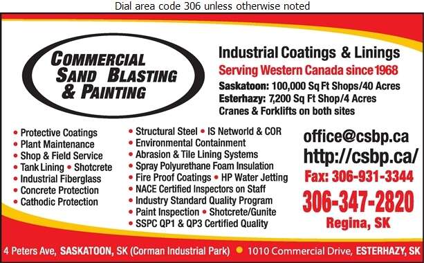 Commercial Sand Blasting & Painting - Painting Contractors Digital Ad