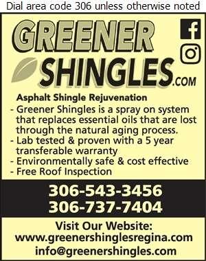 greenershingles.com - Roofing Contractors Digital Ad