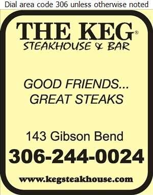 Keg Steakhouse & Bar - Restaurants Digital Ad