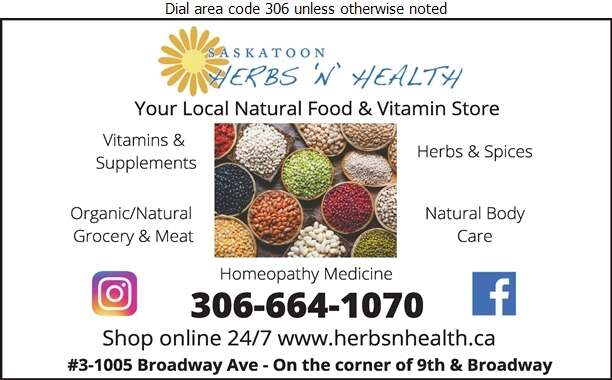 Herbs 'N' Health Foodport - Health Food Products Digital Ad