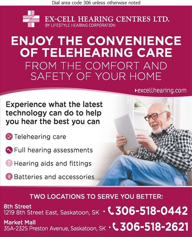 Ex-Cell Hearing Centres Ltd - Hearing Assessment & Hearing Aids Digital Ad