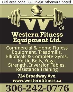 Western Fitness Equipment Ltd - Fitness Equipment & Supplies Digital Ad