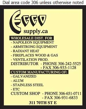 ECCO Supply - Heating Equipment & Systems Digital Ad