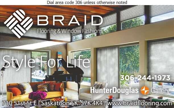 Braid Flooring Ltd - Blinds Retail Digital Ad