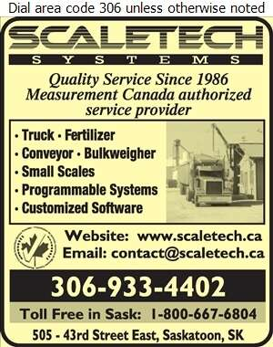 Scaletech Systems Ltd - Scales Digital Ad