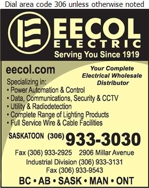 Eecol Electric (Fax) - Electric Equipment & Supplies Whol Digital Ad