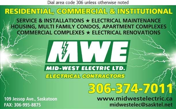 Mid-West Electric Ltd - Electric Contractors Digital Ad