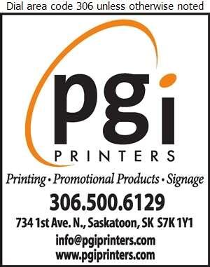 PGI Printers - Promotional Products Digital Ad