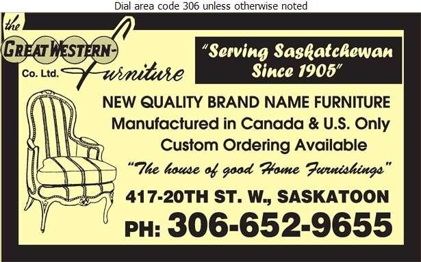 Great Western Furniture Co Ltd - Furniture Dealers Retail Digital Ad