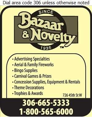 Bazaar & Novelty - Party Supplies Digital Ad