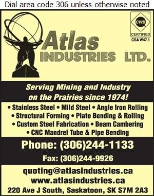 Atlas Industries Ltd - Steel Fabricators Digital Ad