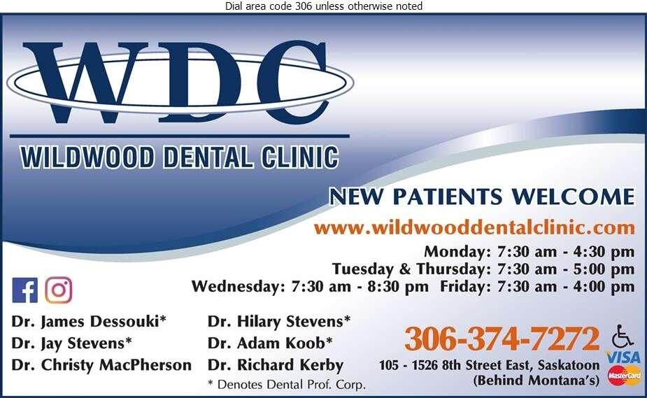 Wildwood Dental Clinic - Dentists Digital Ad