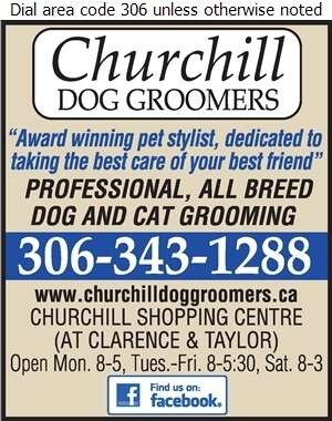 Churchill Dog Groomers - Dog Grooming & Clipping Digital Ad