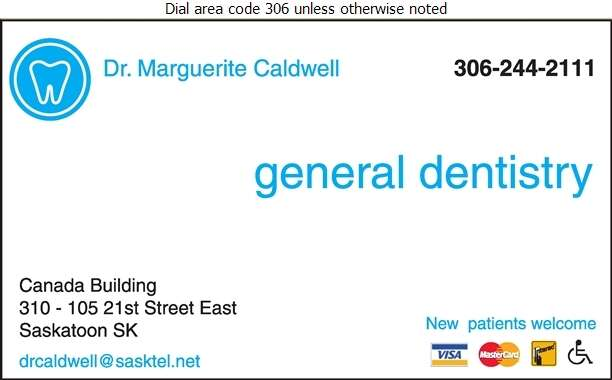 Caldwell Marguerite Dr (General Dentistry) - Dentists Digital Ad