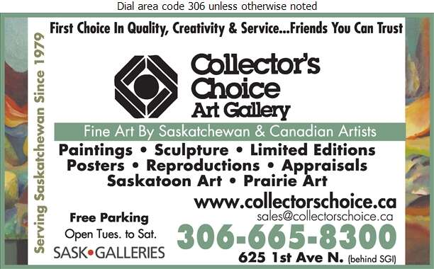 Collector's Choice Art Gallery - Art Galleries & Dealers Digital Ad