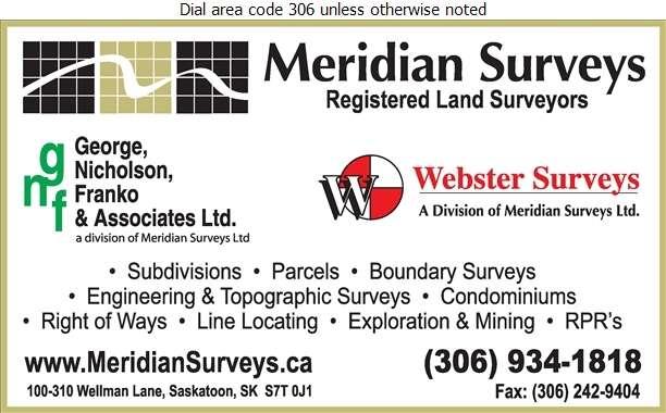Meridian Surveys Ltd - Surveyors Digital Ad