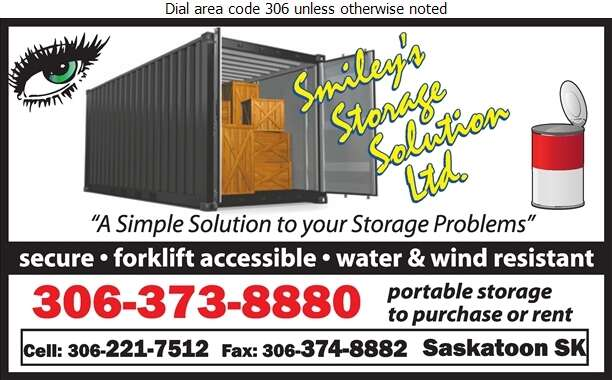 Smiley's Storage Solutions Ltd - Storage- Household & Commercial Digital Ad