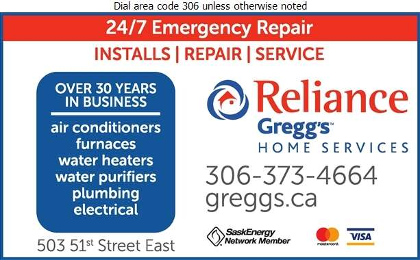 Reliance Gregg's Home Services - Air Conditioning Contractors Digital Ad