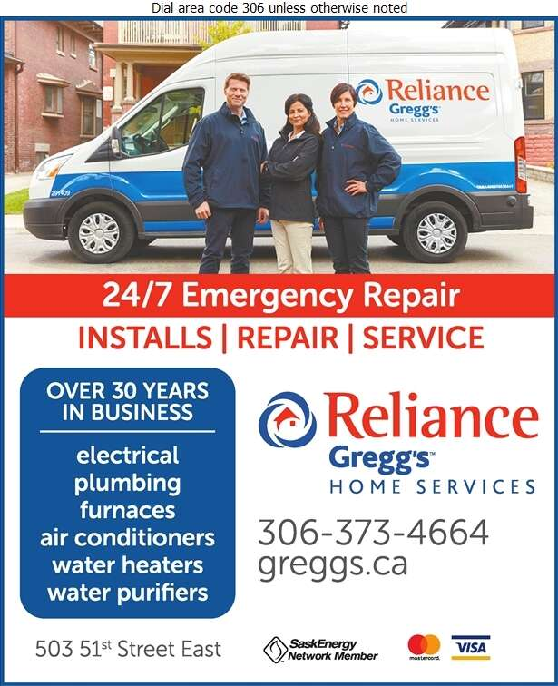 Reliance Gregg's Home Services - Electric Contractors Digital Ad