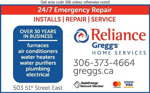Reliance Gregg's Home Services - Furnaces Heating Digital Ad