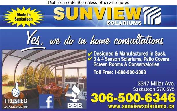 Sunview Solariums Ltd - Sun Rooms & Solariums Digital Ad