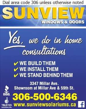 Sunview Windows & Doors - Windows Digital Ad