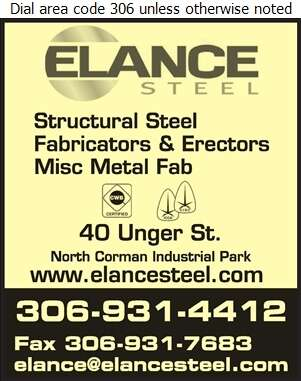 Elance Steel Fabricating - Steel Fabricators Digital Ad