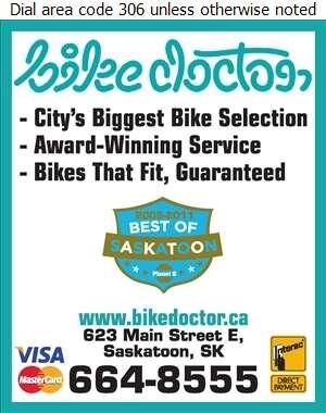 Bike Doctor - Bicycles Dealers Digital Ad