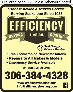 Efficiency Heating & Cooling - Air Conditioning Contractors Digital Ad