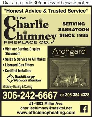 Efficiency Heating & Cooling - Fireplaces Digital Ad