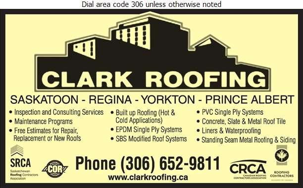 Clark Roofing (1964) Ltd - Roofing Contractors Digital Ad
