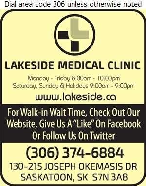 Lakeside Medical Clinic - Clinics Medical Digital Ad